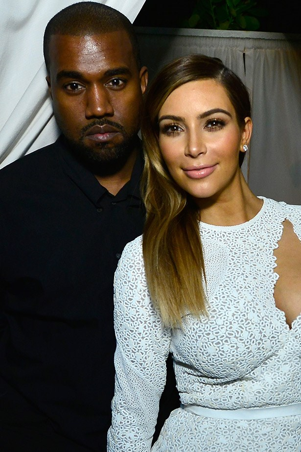 Kimye loved up and in white at an event. Click through to see the dresses we would have liked to see her in.