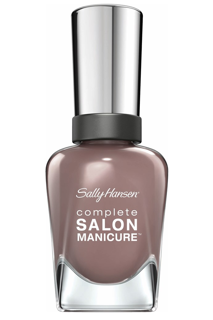 <p><strong>Janna - Beauty Director </strong></p> <p><em>Complete Salon Manicure in Commander in Chic, $14.95, Sally Hansen, 1800 812 663</em></p> <p>Is a super pretty (read: non-corpse-y) take on greige.</p>