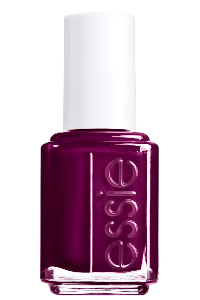 <p><strong>Vanessa - Features Writer</strong></p> <p><em>Nail Laquer in Carry On, $16.95, Essie, 1300 369 327</em></p> <p>It's the perfect shade of burgundy and, best of all, doesn't make my hands look vampire-white (even though they are).</p>