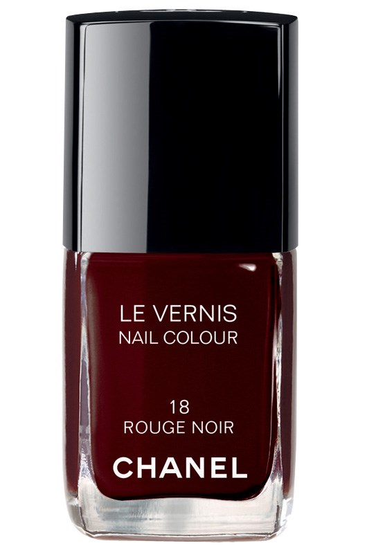 <p><strong>Dee - Market Editor</strong><p/> <p><em>Le Vernis in Rouge Noir, $39, Chanel, (02) 9900 2944</em><p/> <p>A beautiful burgundy that's perfect for the cooler months.<p/>