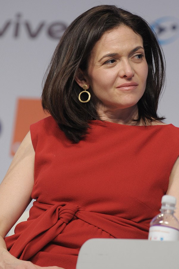"""<strong>Sheryl Sandberg, 44 <br> Rank:</strong> 9 <br> Facebook's COO, Sheryl """"Lean In"""" Sandberg's fortune is an estimated $1 billion, ranking her #1540 on the Forbes world Billionaire list – this pretty much comes down to her 12 million shares in Facebook, and let's be honest, right now, that's a pretty safe investment. Aside from her book,<em> Lean In: Women, Work, and the Will to Lead</em> being the handbook for power-players, business leaders, entrepreneurs and aspiring leaders, there's also talk of a movie deal with Sony and a follow up book this year, <em>Lean In for Graduates. </em>"""