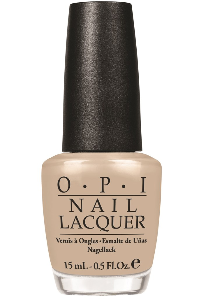 """<p><strong>Talisa - Designer</strong><p/> <p><em>Nail Lacquer in Did you Ear about Van Gogh, $19.95, OPI, <a href=""""http://www.opi.net.au"""">opi.net.au</a></em><p/> <p>It's the perfect greige, that works with every outfit.</p>"""