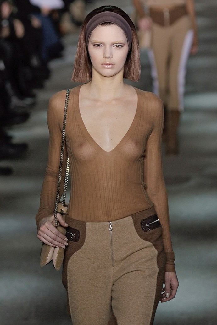 Kendall Jenner on the runway