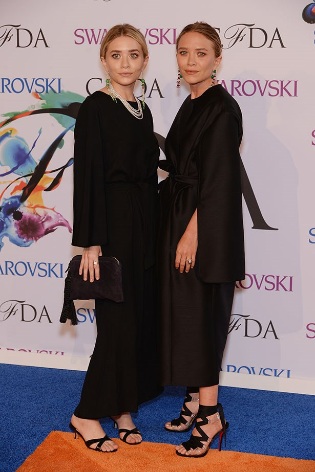 Wearing The Row, of course, Mary-Kate and Ashley Olsen took home Accessory Designer of the Year.