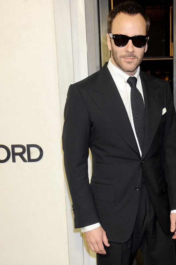 The man in the suit.  CFDA Lifetime Achievement award winner Tom Ford.