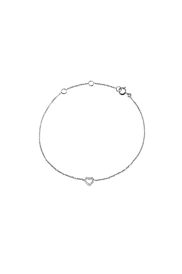 "Bracelet, $295, Claire Aristides Fine Jewels, <a href=""http://www.aristidesfinejewels.com"">aristidesfinejewels.com</a>"