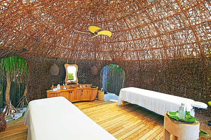 <p><strong>Pampering</strong></p> <p>While many resort spas are cocooned away from nature, here four treatment pavilions are nestled on the beach. Along with one of the many facials andmassages on offer, try a unique body scrub with a steaming poultice made from local mineral sands.</p>