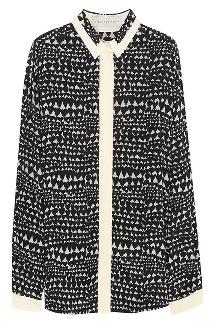 Shirt, $990.34, Stella McCartney, net-a-porter.com