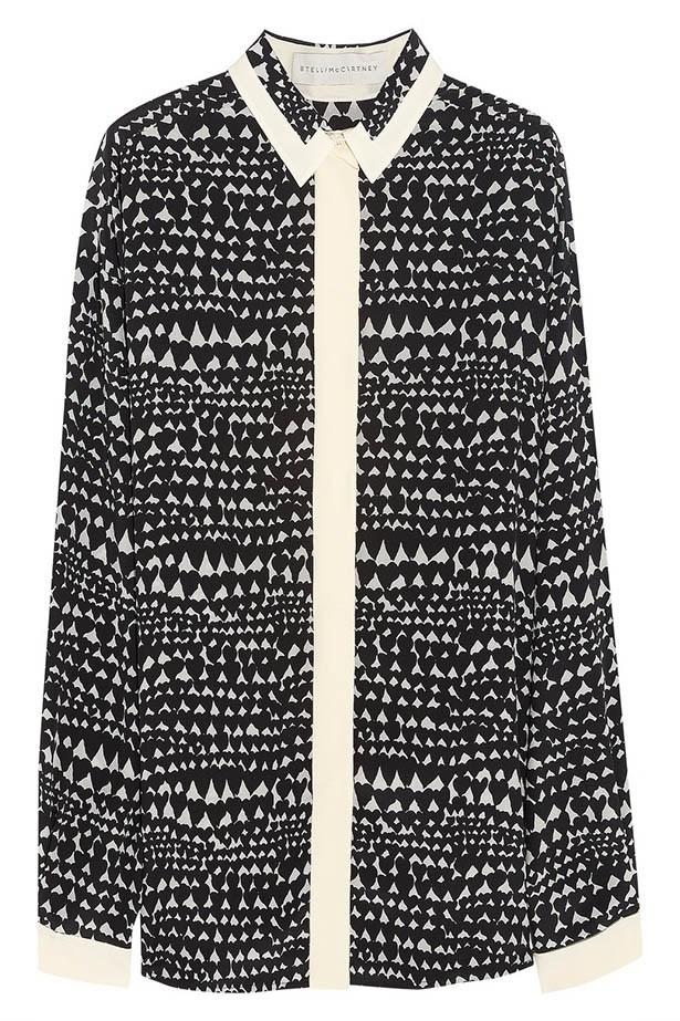 Shirt, $990.34, Stella McCartney, net-a-porter.com