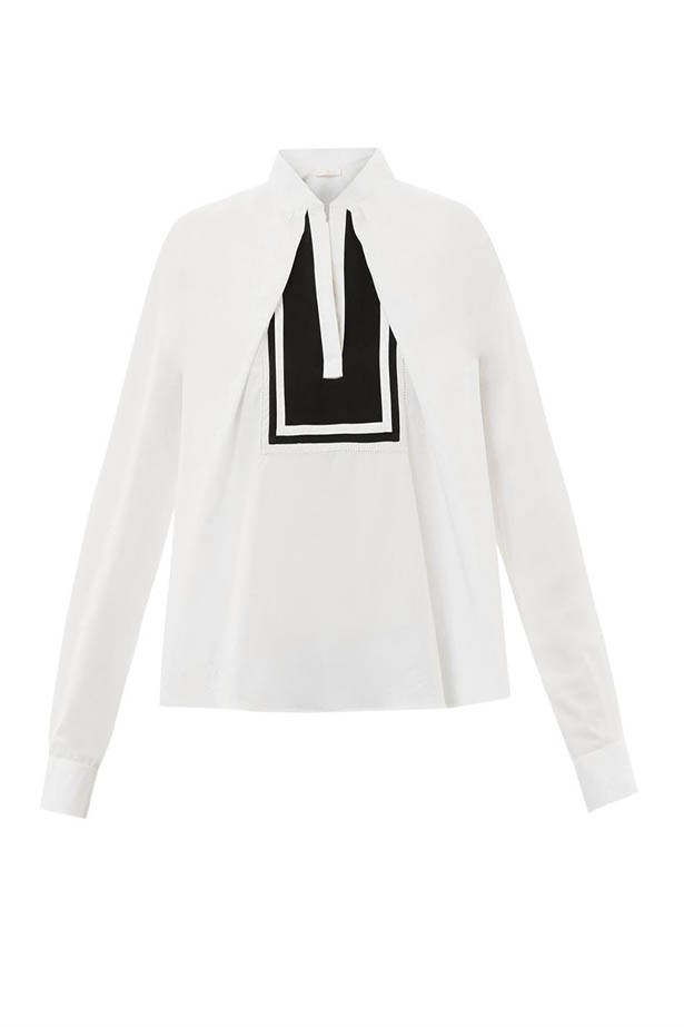 Shirt, $978, Chloe, matchesfashion.com
