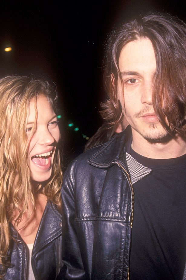 Kate Moss and Johnny Depp: in our hearts and on our moodboards.