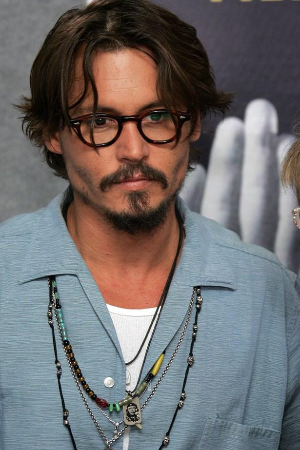 Johnny Depp at the Toronto Film Festival promoting <em>Corpse Bride</em> in 2005.