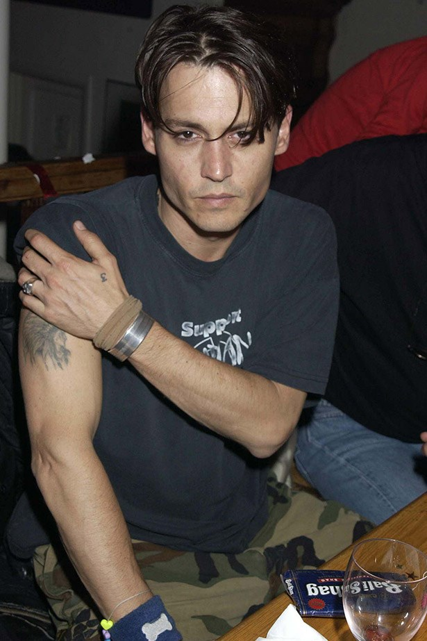 Johnny being a total badass at a <em>Lost In La Mancha</em> screening in London in 2002.