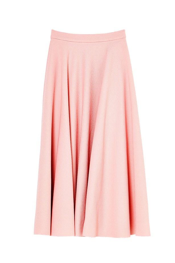 """Skirt, $49.95, H&M, <a href=""""http://www.hm.com"""">hm.com</a>"""