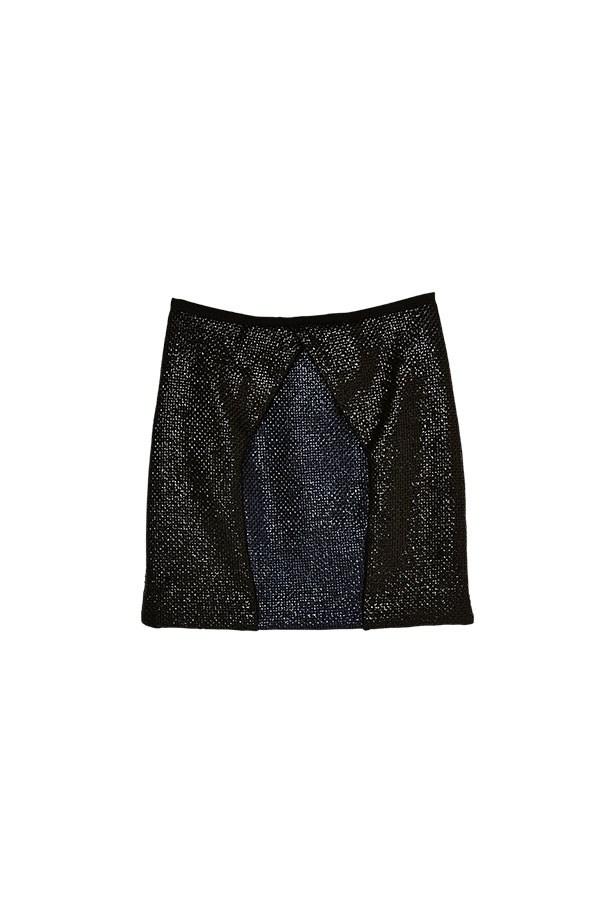 """Skirt, $390, LP33.3, <a href=""""http://www.lp333.com"""">lp333.com</a>"""