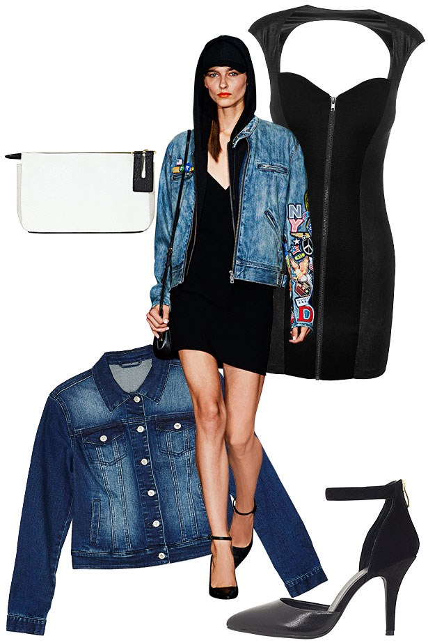 """<p><strong>Winning Edge</strong></p> <p>Team your mid-wash denim with the classics, likewhite shirting, blazers and a trench, then bringitup to date with sporty, streetwise favouritesforthatelement of DKNY dash. </p> <p>Dress, $130, Guess, <a href=""""http://www.guess.net.au"""">guess.net.au</a>. Heels, $150, Escapade, <a href=""""http://www.escapadeshoes.com.au"""">escapadeshoes.com.au</a>. Jacket, $79.99, Jeanswest, <a href=""""http://www.jeanswest.com.au"""">jeanswest.com.au</a>. Clutch, $49.95, French Connection, <a href=""""http://www.frenchconnection.com.au"""">frenchconnection.com.au</a>.</p>"""