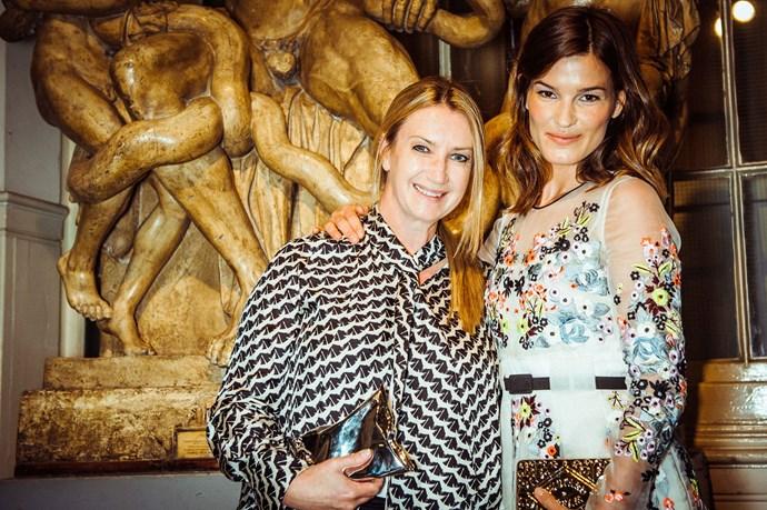 Anya Hindmarch and Hanneli Mustaparta<br><br> Photos: Morgan O'Donovan
