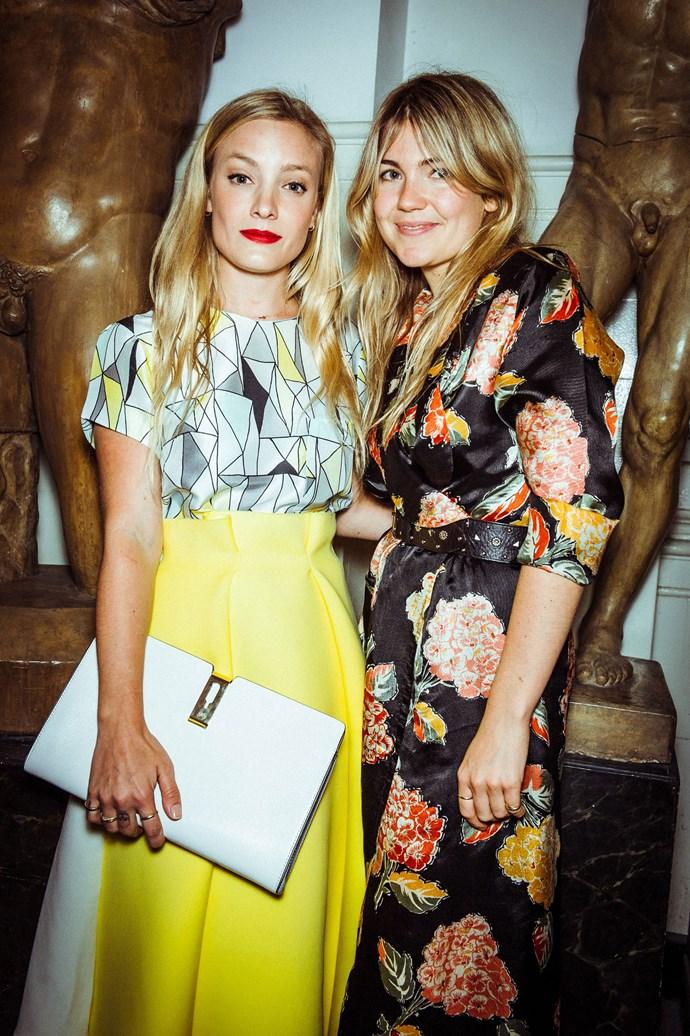 Kate Foley and Matilda Goad<br><br> Photos: Morgan O'Donovan
