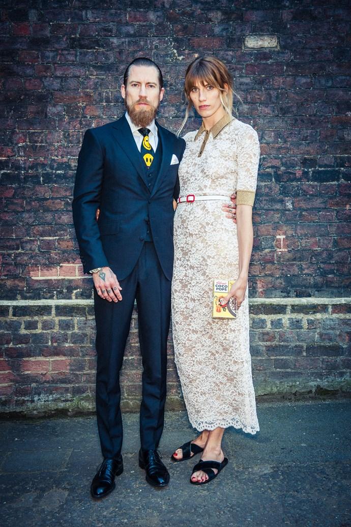 Justin O'Shea and Veronika Heilbrunner<br><br> Photos: Morgan O'Donovan