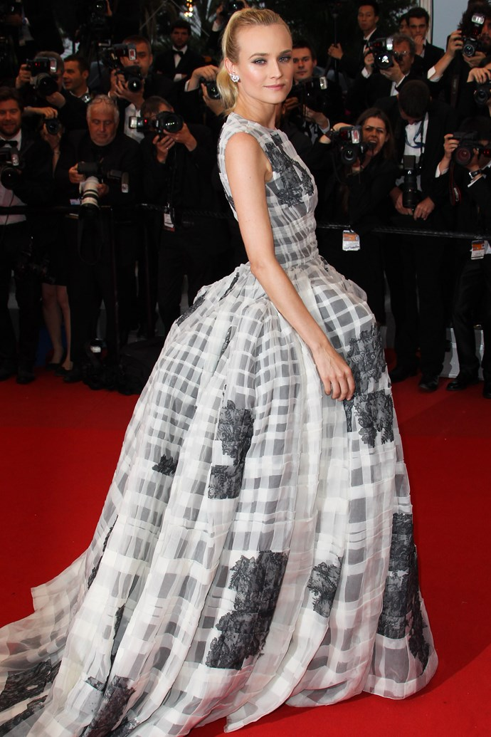That time she used all the love letters we've ever written her to prop up her Christian Dior Couture gown.