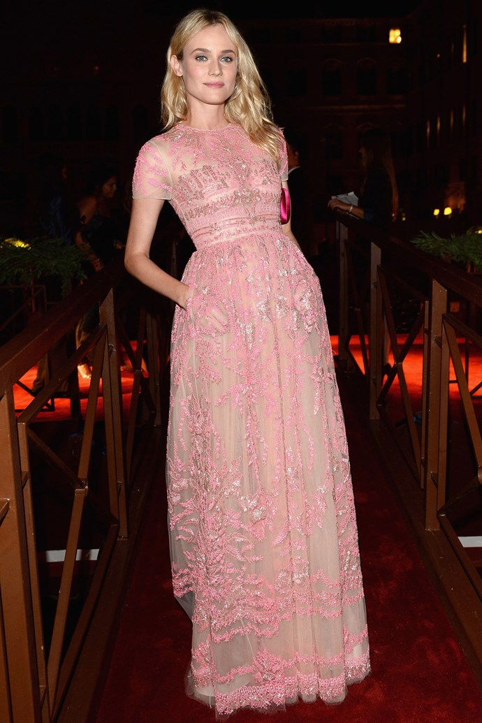 That time she wore the sheerest of sheer Valentino gowns without compromising even the smallest amount of dignity.
