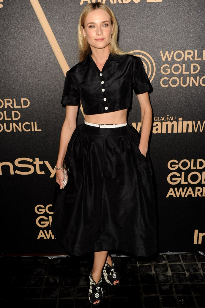 That time we planked for a week after seeing her abs in this Rochas two-piece.