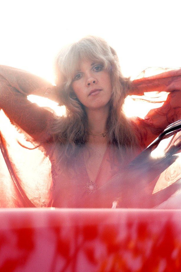 "<strong>Stevie Nicks</strong><br><br> ""Stevie was the ultimate bohemian woman. She was known for piling on the accessories, wearing long flowing maxi dresses, and always rocking it. We often look to her unabashed free spirit for inspiration."""