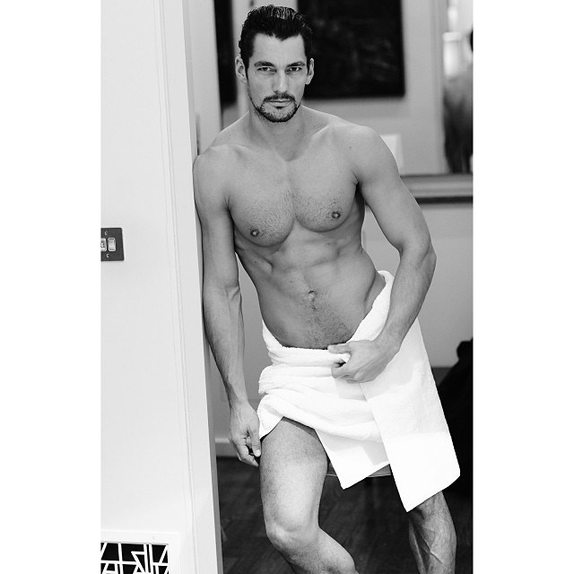 <strong>David Gandy</strong><br><br> (Get ready for some more half-naked photos of this British male-supermodel  coming out soon as he has announced that he is soon to be launching an underwear range for British chain Marks and Spencer)