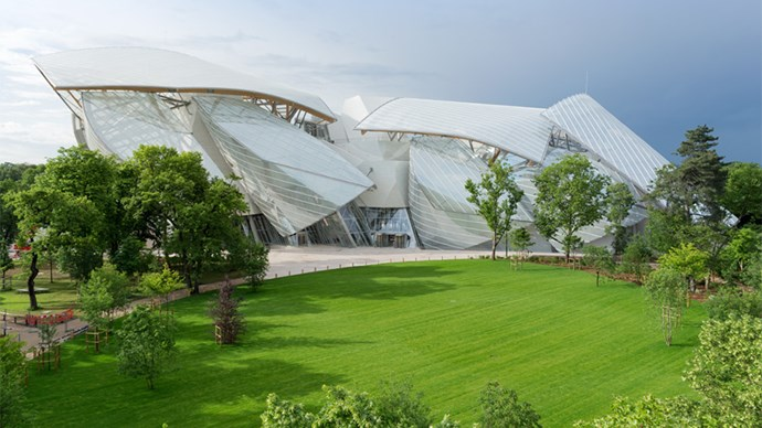 Frank Gehry's Foundation Louis Vuitton