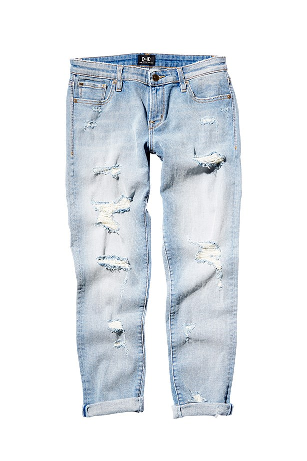 "Jeans, $230, D-ID Jeans, <a href=""http://www.denimislandaustralia.com.au"">denimislandaustralia.com.au</a>"