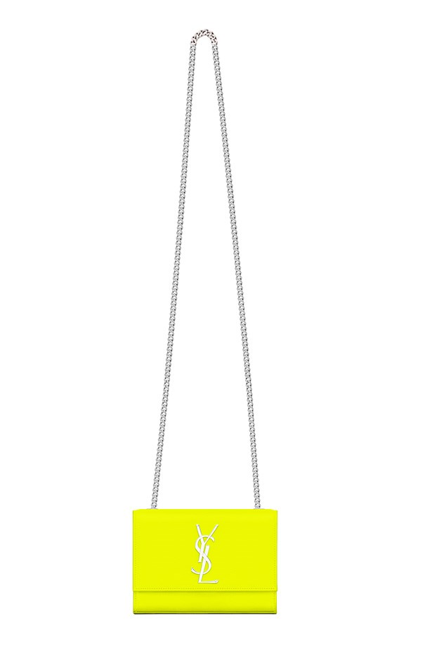 "Bag, $2,030, Saint Laurent, <a href=""http://www.ysl.com"">ysl.com</a>"