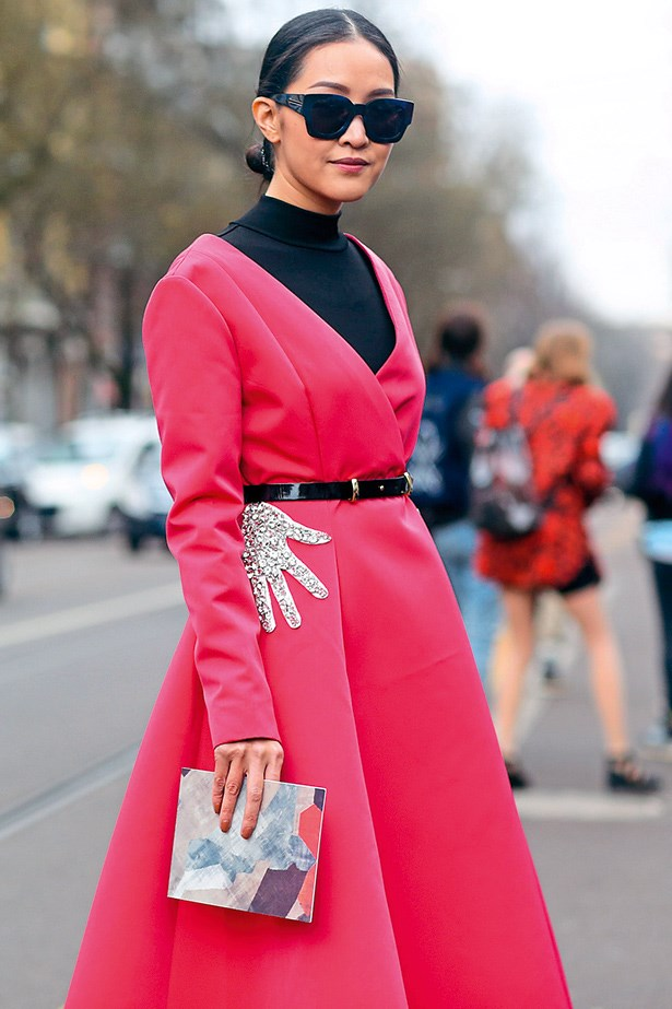 Style right now is about having the chutzpah to wear whatever takesyour fancy, regardless of the dress code.