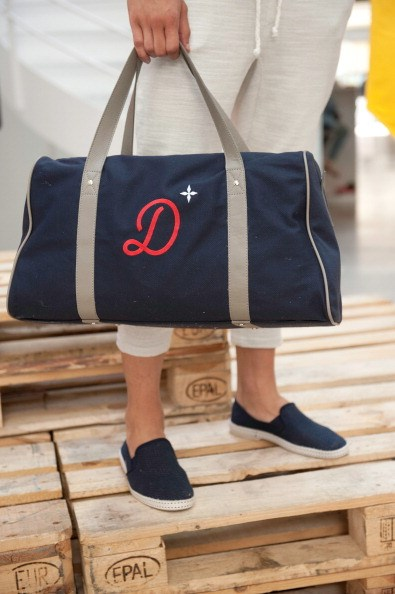 <strong></strong>Designer: Commune De Paris<br> <strong></strong>Season: SS15<br> <strong></strong>Why we love it: great everyday bag that gives off a bit of class with personalised initials