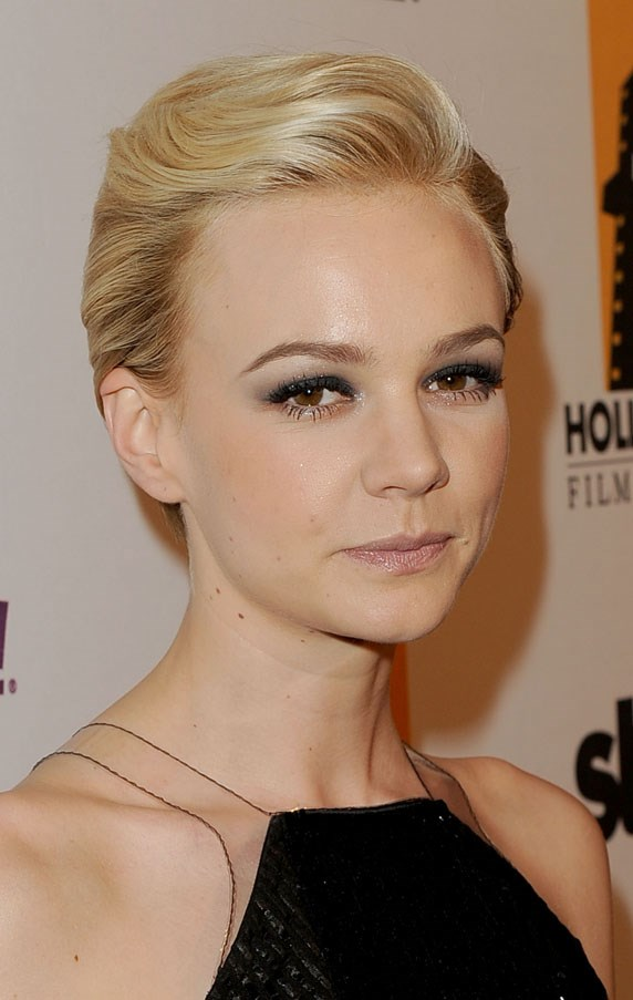 As well as when she was a blonde for <em>The Great Gatsby.</em>