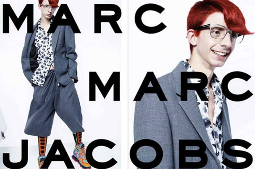 Marc Jacobs' AW14 campaign was cast via Instagram and Twitter.