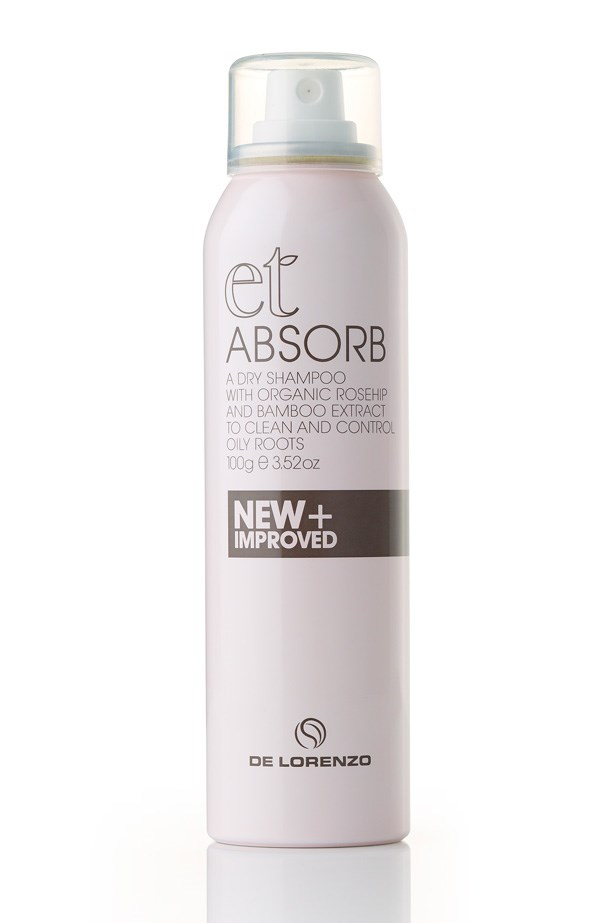 "<p><strong>Best for – between shampoos and midday volume</strong><p/> <p><em>De Lorenzo Absorb Dry Shampoo, 100g for $19.50, <a href=""http://www.delorenzo.com.au/"">delorenzo.com.au</a></em><p/> <p>This weightless powder spray contains organic rose hip oil leaves the hair smelling clean and revitalised and natural micronised bamboo absorbs oils and leaves no residue on the scalp making it perfect for applying on the go.  <p/>"