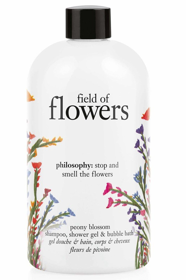 "<p><strong>Best for – short showers</strong><p/> <p><em>philosophy field of flowers peony blossom shampoo, shower gel & bubble bath, $480 for 30ml, <a href=""http://www.philosophyskincare.com.au/"">philosophyskincare.com.au</a></em><p/> <p>If you're in a rush this antioxidant rich gel can be used as a conditioning shampoo and body wash. Vitamin E and natural tea extracts help restore the skins barrier to trap hydration.<p/>"