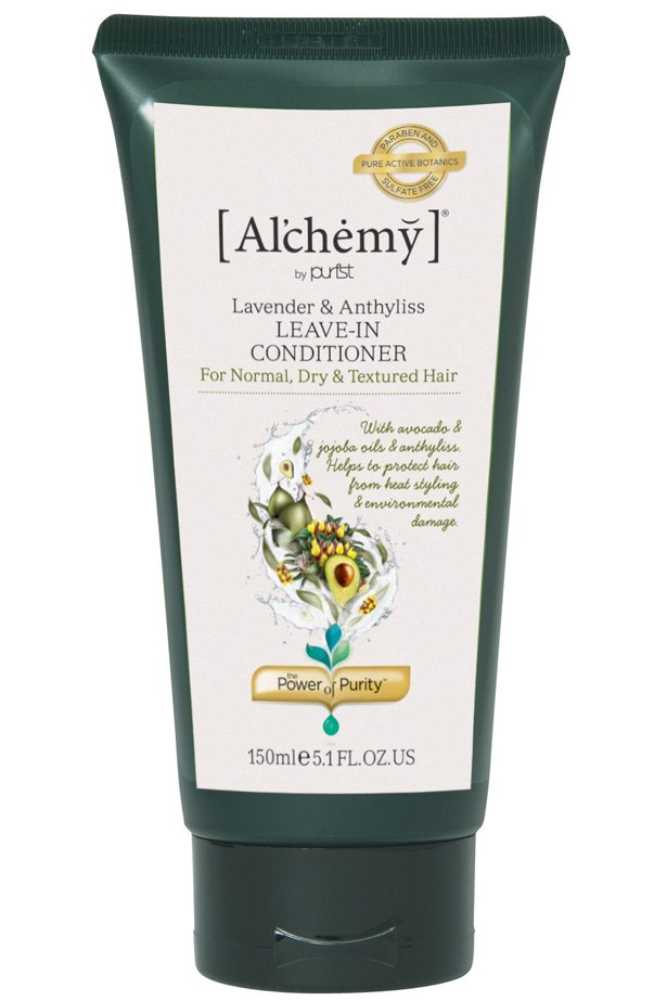 "<p><strong>Best for – hydration and frizz control</strong><p/> <p><em>Al'chemy Lavender & Anthyllis 24 Hour Leave-in Conditioner, 150ml for $17.95, <a href=""http://www.purist.com/"">purist.com</a></em><p/> <p>Use daily to return dry and brittle hair to its former silkier self. Apply to ends during the day to tame curls and ease flyaways with Australian jojoba and certified organic avocado oils for natural nourishment.<p/>"