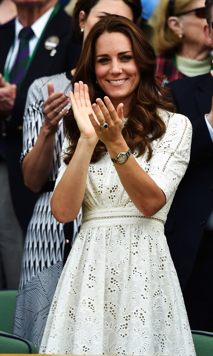 Kate Middleton in Zimmermann dress