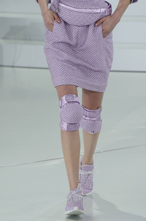 Chanel's couture trainers are becoming hot property.