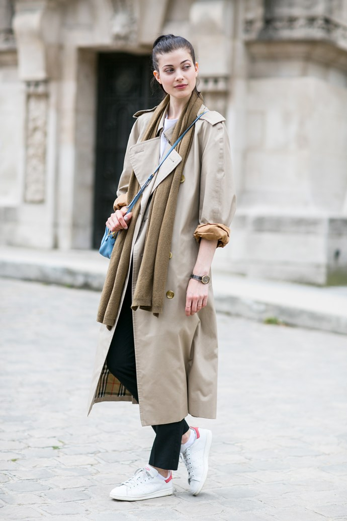 A Burberry trench can do no wrong. Trust us.