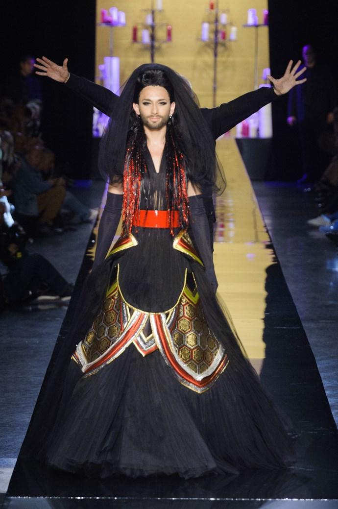 Conchita Wurst for Jean Paul Gaultier