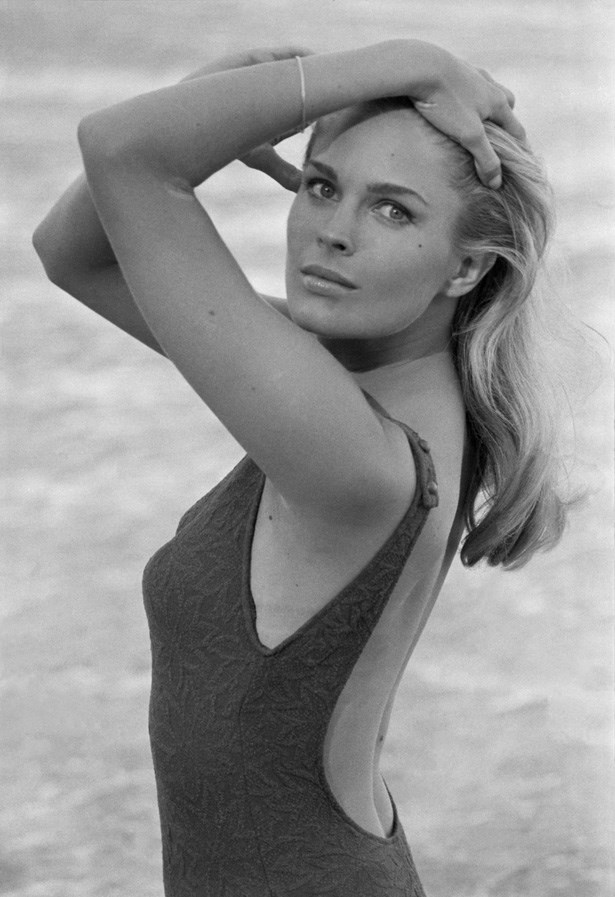 <strong>Candice Bergen</strong> <br><br> While most of us know Candice Bergen as Murphy Brown or Shirley Schmidt, before she was an actress, Bergen was a beautiful and successful model, another leggy blonde promoted and fostered by Eileen Ford.