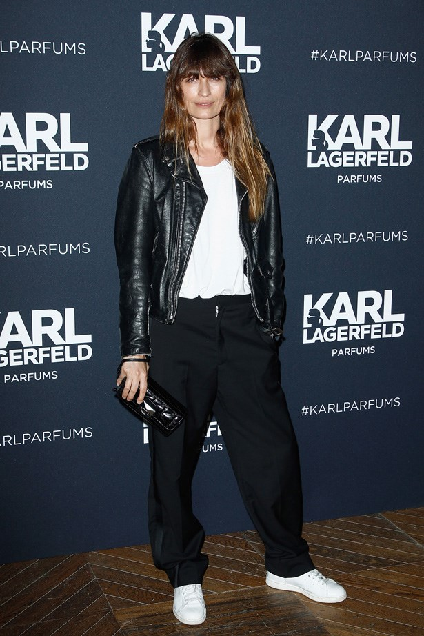 <strong>Caroline De Maigret</strong><br><br> Another Chanel favourite, model and music producer Caroline De Maigret's MO is tomboy-cool. <br> Emulating her laidback, rock-meets-sporty style is easy: take some loose-leg trousers or boyfriend jeans, add a basic tee and throw on a leather jacket. Her accessories de jour? A small bag (a Chanel Boy bag will do the trick) and fashion-forward trainers, by someone like Isabel Marant, Adidas or Comme De Garcons.