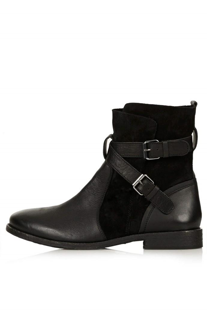 Boots, $124, Topshop, topshop.com