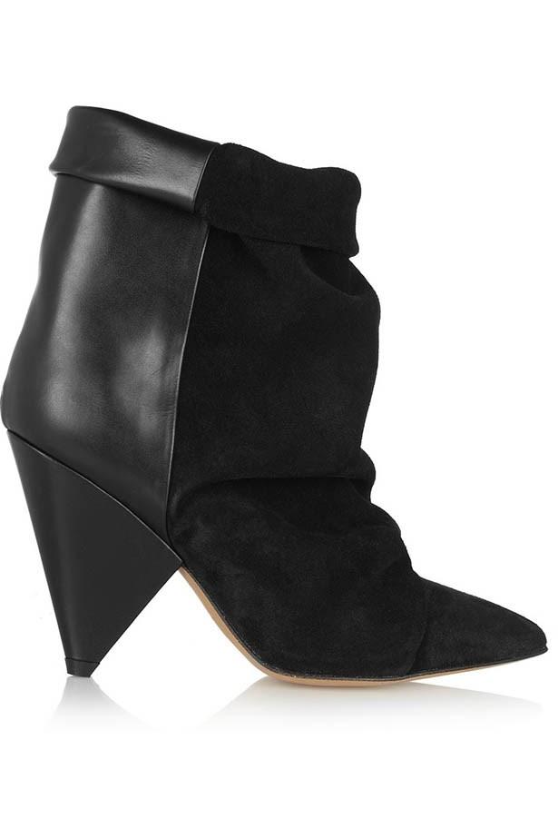 Boots, $1,175, Isabel Marant, net-a-porter.com