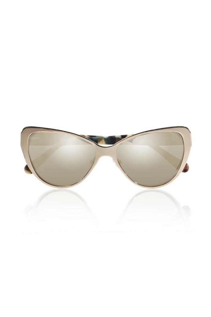 """Sunglasses, $409, Prism, <a href=""""http://www.net-a-porter.com"""">net-a-porter.com</a>"""