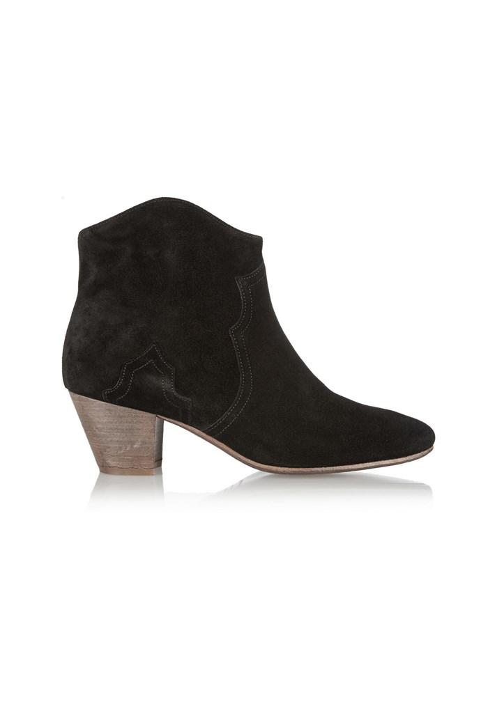 """Boots, $730, Isabel Marant, <a href=""""http://www.net-a-porter.com"""">net-a-porter.com </a>"""