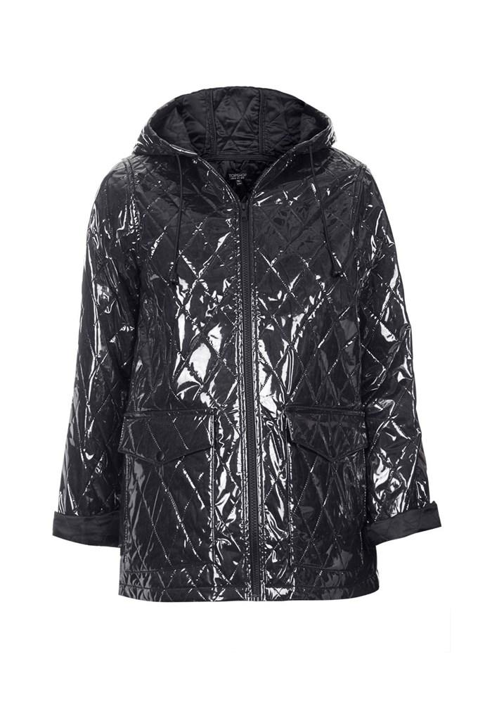 """Jacket, approx. $100, Topshop, <a href=""""http://www.topshop.com"""">topshop.com</a>"""