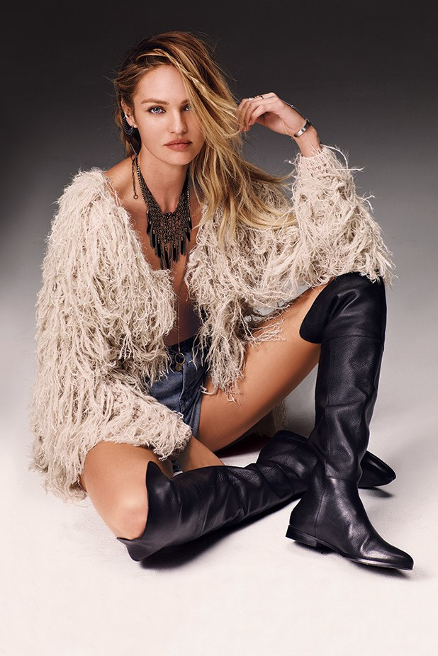 Candice Swanepoel in Free Peoples campaign